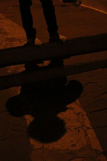 Q Half Man Full Shadow Quite And Natural Place Dim Lights Lights Kundalpur Damoh Indian Culture