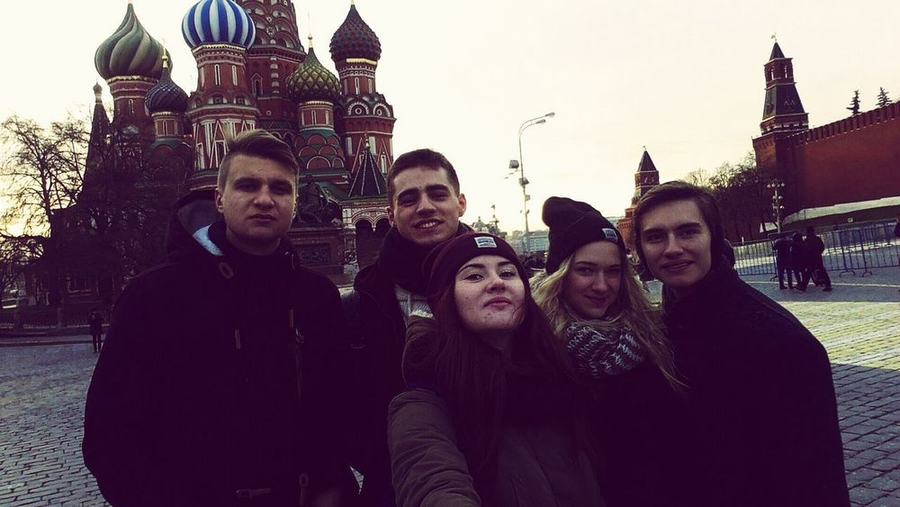 Russia Moscow Moscow City Trip Friendship Friend Friends Hello World