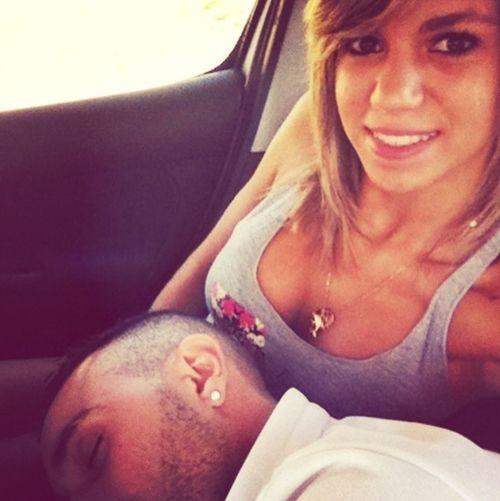 En voiture Mon Ange Sleeping
