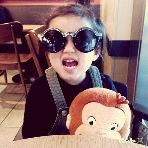 Monster My Daughter Littlegangster Taking Photos Glasses
