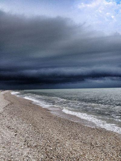 Mare Tempesta Storm Nuvole