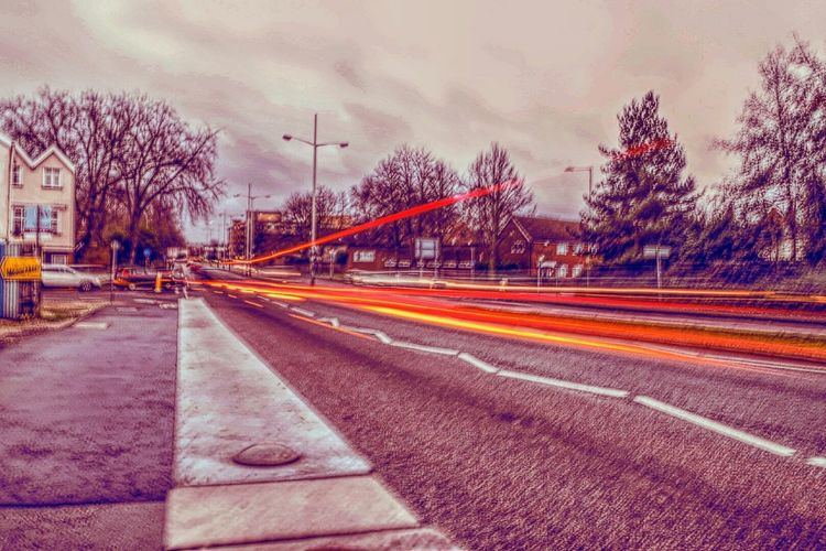 Light Trails Norwich My Edit Experimenting With Different Effects Nikonphotographer Feeling Creative Long Exposure Grey Day Brightened Up