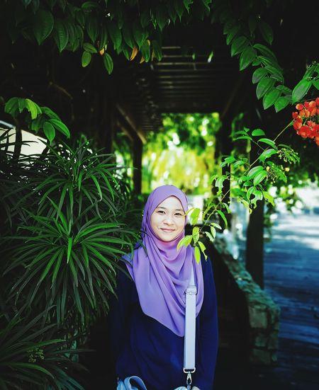 A typical malaysian muslim woman