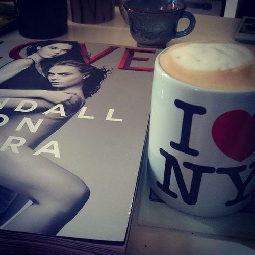 Love days off in the week. Lovemagazine Newyork Coffee Wortharead