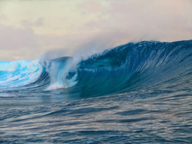 Wave Power In Nature Sea Humpback Whale Sky A New Beginning