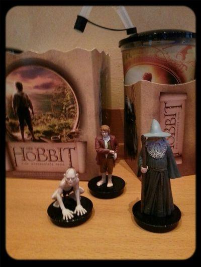 The Hobbit An Unexpected Journey Gandalf Bilbo Baggins Gollum