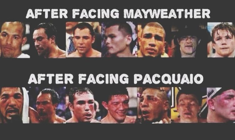 Maypac Teampacman Mayweather Pacquiao May2 Boxing History Legend Pacmanwin