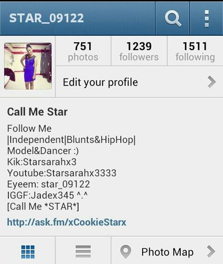 follow me on instagram @star_09122 i was hacked at 13k help me build back up alrighty :) Also shout me out please