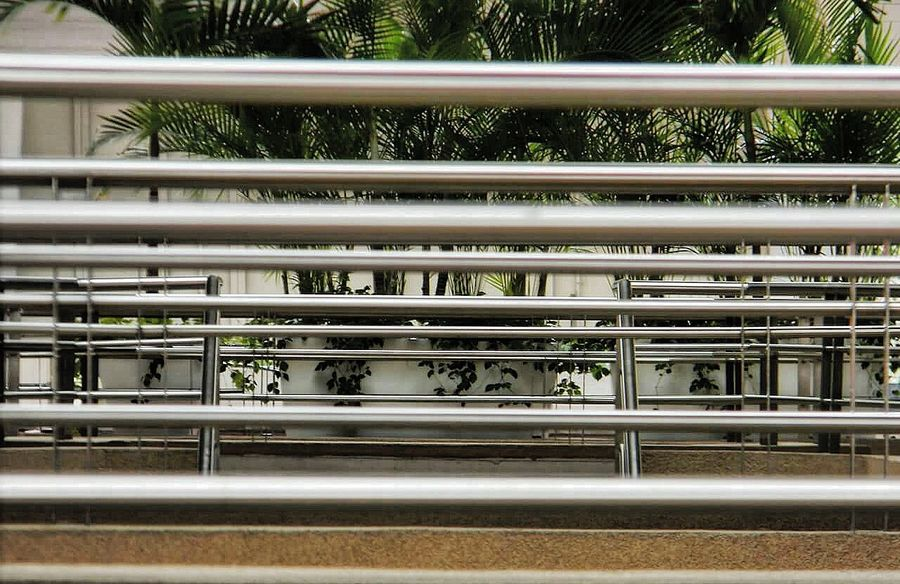 Railing No People Day Architecture Outdoors Perspective Downside  Upside