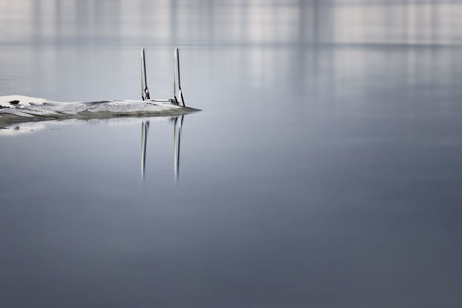 Seascape Photography Tranquility Nature No People Reflection Seascape Tranquil Scene Water Winter Wonderland