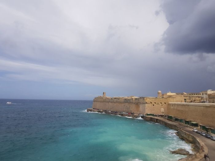 Valetta, Malta Malta Mediterranean  No Filter Water Sea Beach City History Cityscape Sky Architecture Horizon Over Water Building Exterior Old Ruin Civilization Ancient Civilization Archaeology Fort The Past