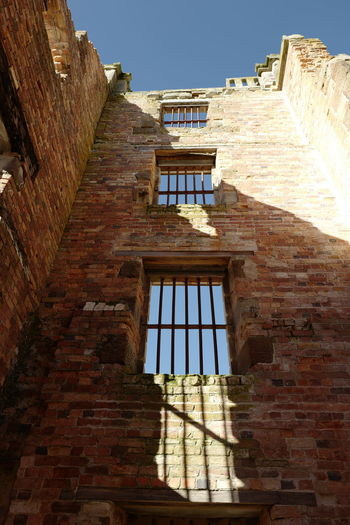 Shot in Tasmania, Australia. Architecture Building Exterior Built Structure Day History Low Angle View No People Outdoors Shadow Sky Sunlight Window
