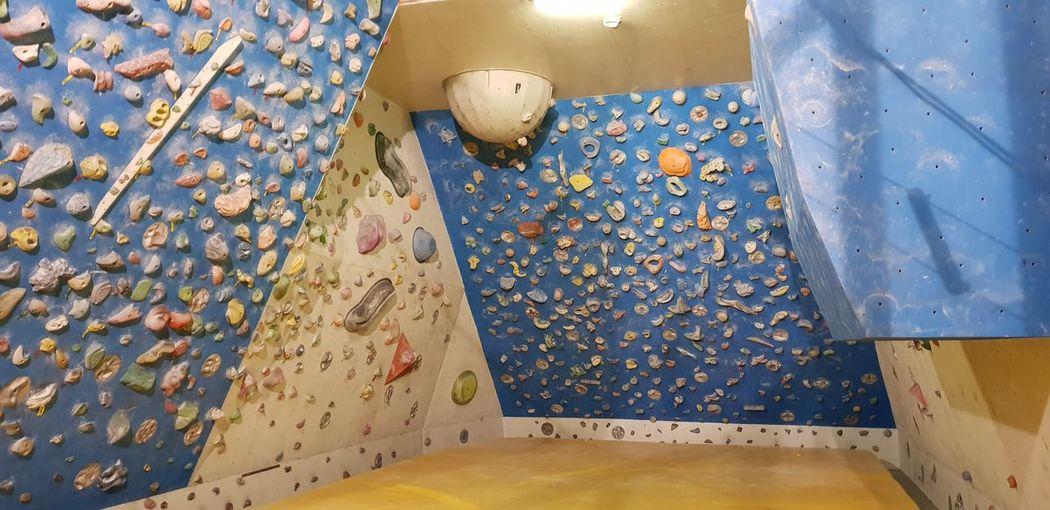 Ścianka wall. Poland Climbingwall Activity Sport Climbing Ascent Colour EyeEm Selects Mosaic Climbing Wall