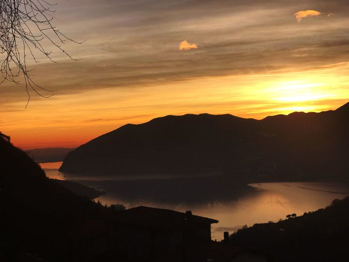 Iseo Lake from