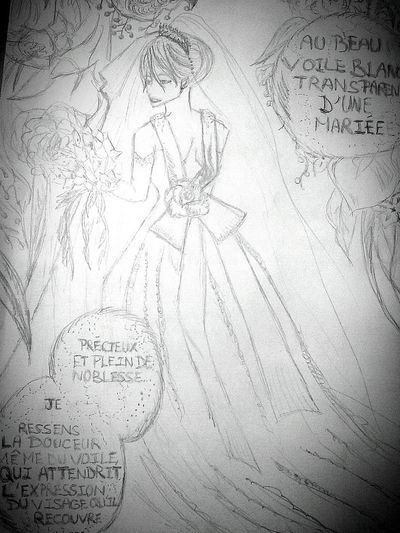 It's my draw, she is a beautifull girl no ? ^-^ MANGA <33 ..! Pretty Girl Marriage Pictures My Draw ♥
