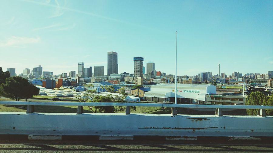 My Best Photo 2015 Johannesburg Skyline Skyline Highway