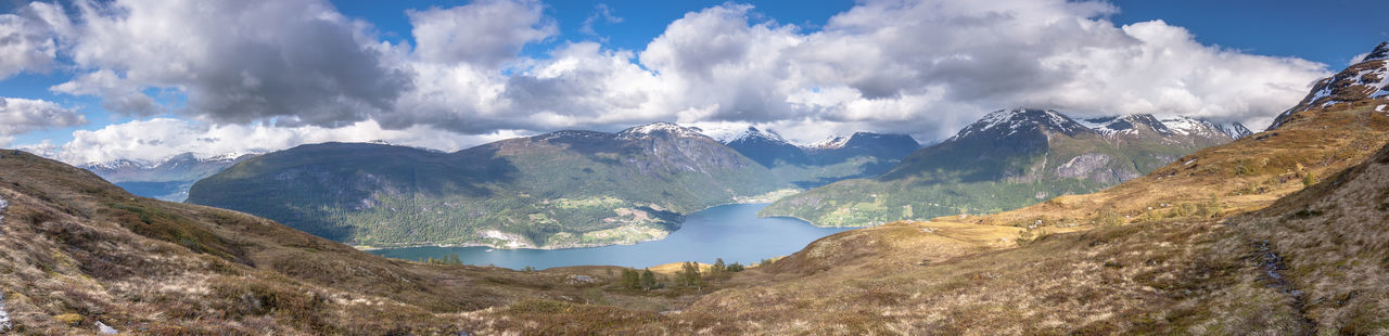 Adventure Beautiful Nature Beautiful View Bluish Clouds And Sky Dramatic Skc Fjord Hiking Hikingadventures Landscape Nature Norway Outdoors Panorama Rough Scenics Landscapes With WhiteWall