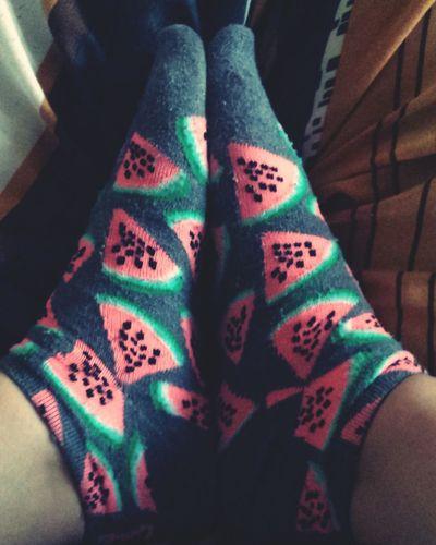 Favourite Socks Watermelon