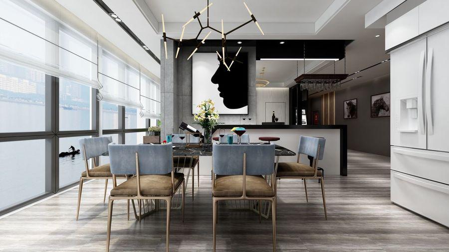 Indoors  Home Interior Design Interior Design Post-modernism Living Room