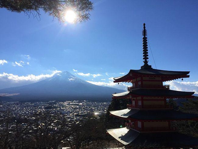 富士山 世界遺産 日本 山梨 Mtfuji Fujisan Fujiyama Mountain Sky Japan Yamanashi Worldheritage Mt.Fuji Enjoying Life Beauty In Nature