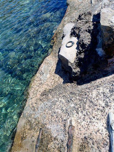 Portinatx Ibiza Embarcadero Mar Smartphonephotography Águas Cristalinas Crystal Clear Waters Sea View
