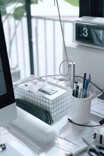 My desk in