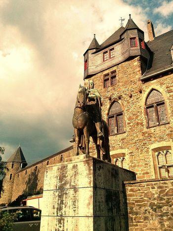 Guardian Castle Sculpture