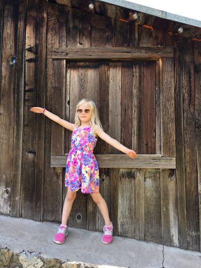 Girl Fun Play Childhood Colorful Cupertino California United States Pichetti Winery Feel The Journey