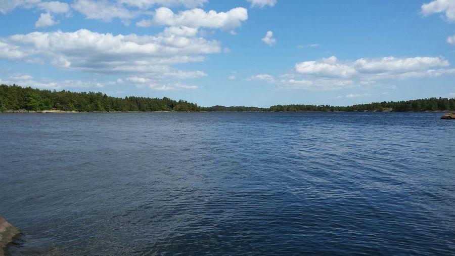 Relaxing Sverige Småland Baltic Sea
