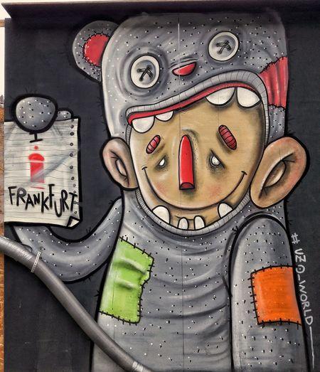 Close-up Adult One Person Rainy Season Text Graffiti Streetart Frankfurt Bahnhof