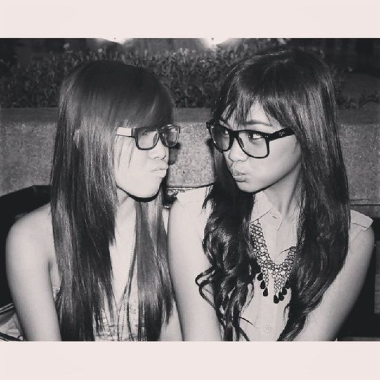 So, here's my entry for TBT  . Hahaha *may competition ba?* ? And because it's my bff's birthdayy. ❤ Eastwood Aiahmyloves
