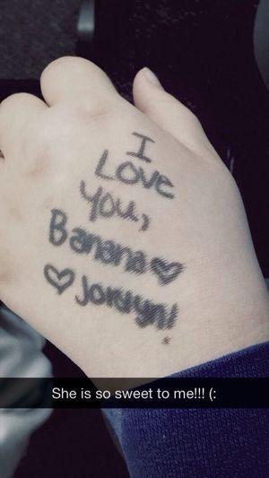 Writing On My Hand