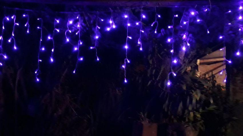 Christmas Lights Christmas Decoration Christmas Lights🎄🌌 Purple