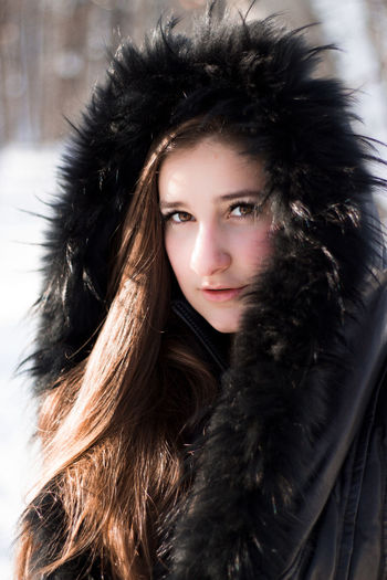 Colder Winter Wintertime Beautiful Woman Beauty Close-up Cold Temperature Fashion Fashion Model Fur Fur Coat Outdoors Portrait Snow Warm Clothing Winter Winter Trees Shades Of Winter