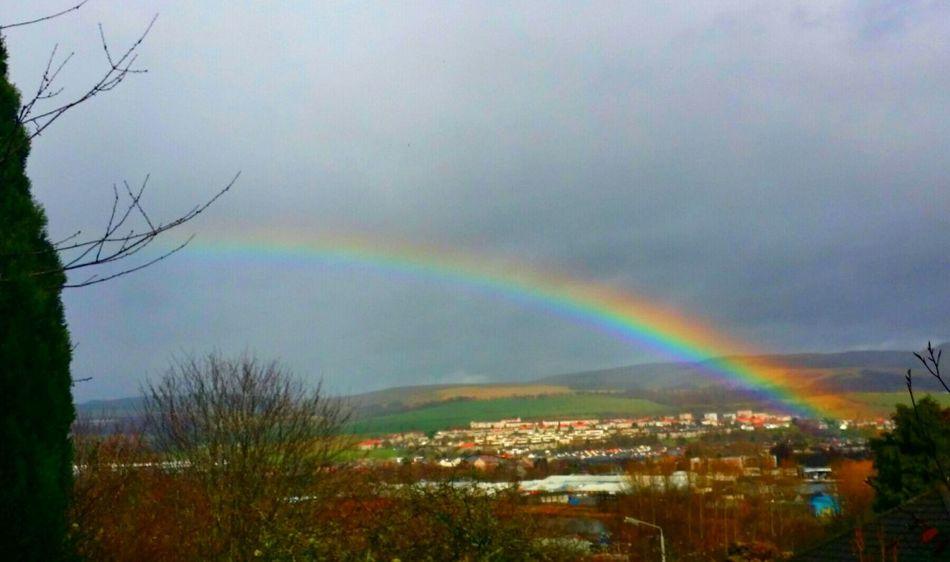 Rainbow Rainbows Rainbow Sky Rainbowsky Scotland Beautiful Day