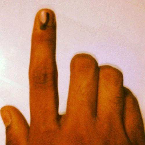 First time Vote :))))))))) Voteforchange India Election2014 Loksabha