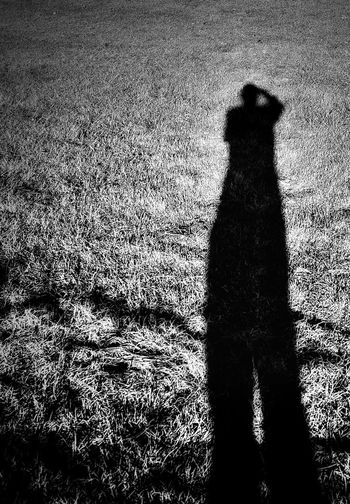 Black And White Cast A Shadow It's Me Light And Shadow Long Long Shadows Selfie Shadow Selfie Shadows Silhouette
