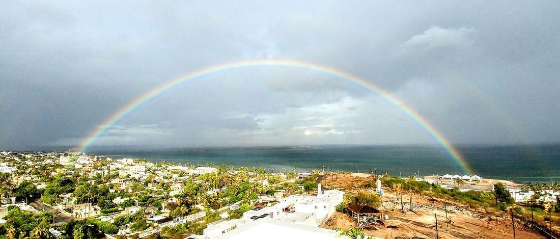 Double Rainbow Baja Ocean Summer Sun Sea