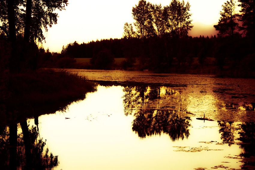 Taking Photos Enjoying Life Rocky Mountains Farmland Sunset Big Sky Country Fishing River River View Photography