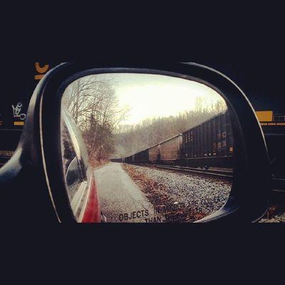 Bsm_shots CSX Train Countryroads exploring westvirginia railroad rsa_country rural_love wv_igers icu_usa nature_shooters wv_nature ig_addict sidemirrorshots rsa_theyards railcar