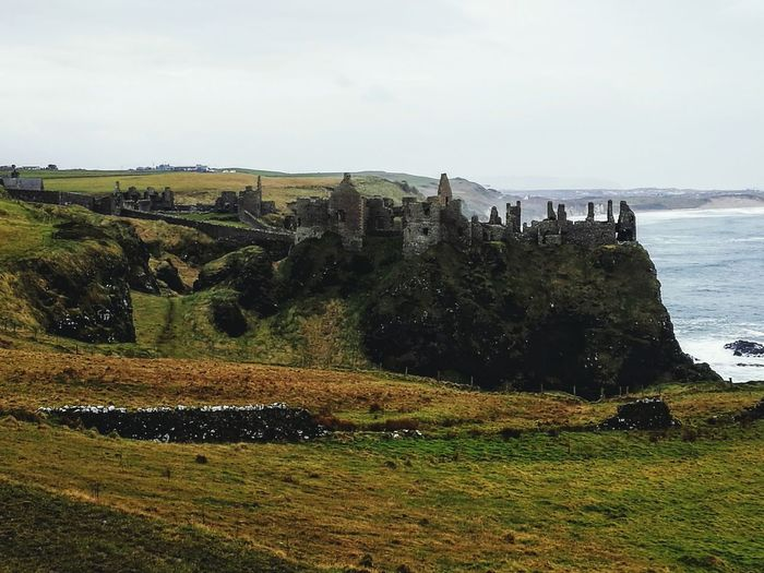 Dunluce Castle, Northern Ireland Game Of Thrones Raw Images Beauty In Nature Filming Location History Through The Lens  Prisoner Of The Past