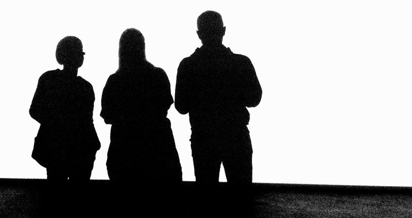 Blackandwhite Black And White Contrast People Shapes Silhouette Black & White Monochrome Photography Black And White Friday