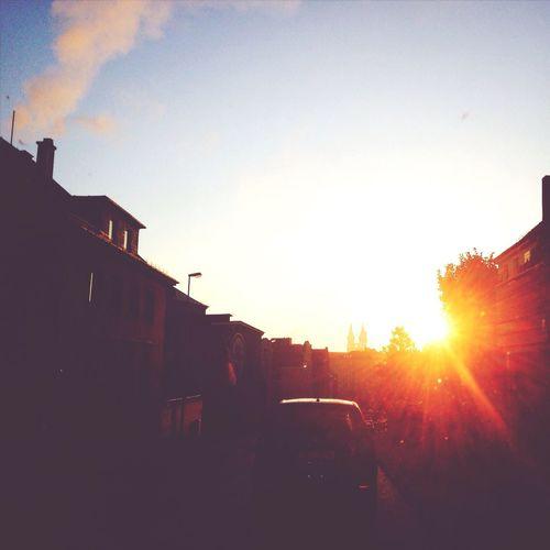 Sunrise Sun Light Street