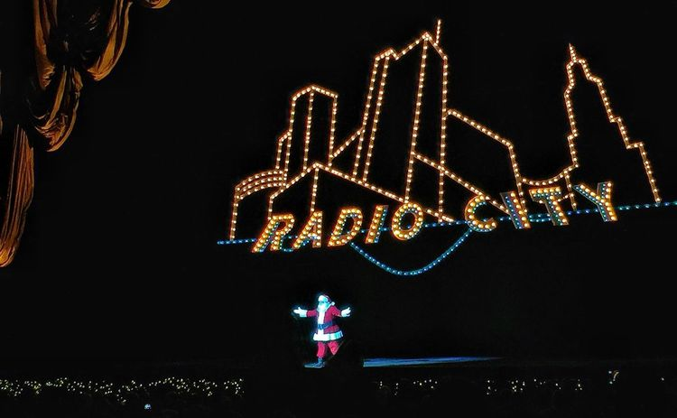 Happy Holidays... Christmas New York City Santa Claus