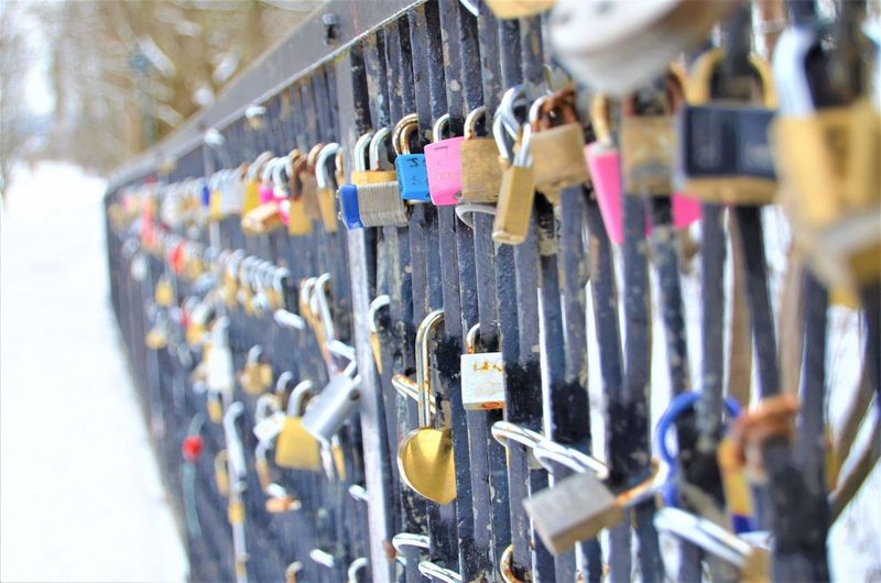 love locks Oslo Oslo, Norway Norway Norway🇳🇴 Travel Bridge Love Lock Faith Lock Belief Dreamcatcher Keyhole Market Locked Luck Hope Key Ring Key Latch