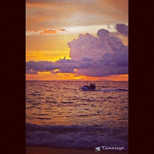 Jetski. ☀☁ Itsmorefuninph Instagood Webstagram Picoftheday Beach Sunset Nature Pentaxkr Pentax Beachbum Summer Water Sports Iphonegraphy