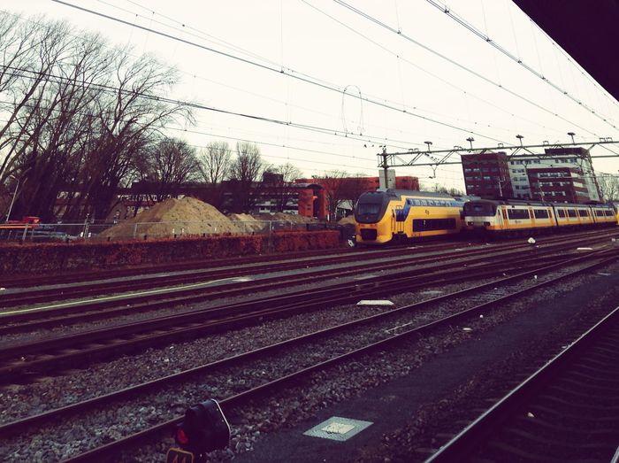 Train station Alkmar Traveling