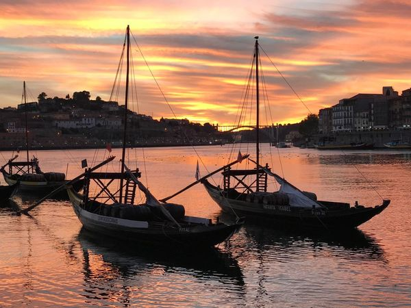 The Week On EyeEm Sommergefühle Nautical Vessel Sunset Porto Portugal 🇵🇹 EyeEmNewHere wWatermMode Of TransportmMooredbBoatwWaterfrontaArchitecturesSkyoOutdoorsnNaturesSilhouettebBeauty In NaturecCloud - SkybBuilding ExteriorbBuilt StructuretTranquilitytTravel DestinationsmMast The Week On EyeEm Lost In The Landscape EyeEmNewHere Be. Ready. EyeEm Ready   An Eye For Travel Colour Your Horizn Summer Exploratorium The Great Outdoors - 2018 EyeEm Awards Summer Road Tripping