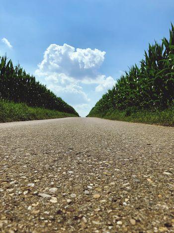 Road Cloud - Sky Rural Scene