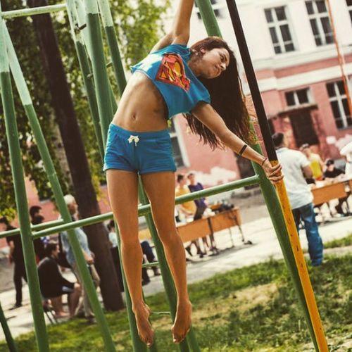Girl Workout Yoshkar_ola Fitness Supergirl Kazan Diana_shakirova